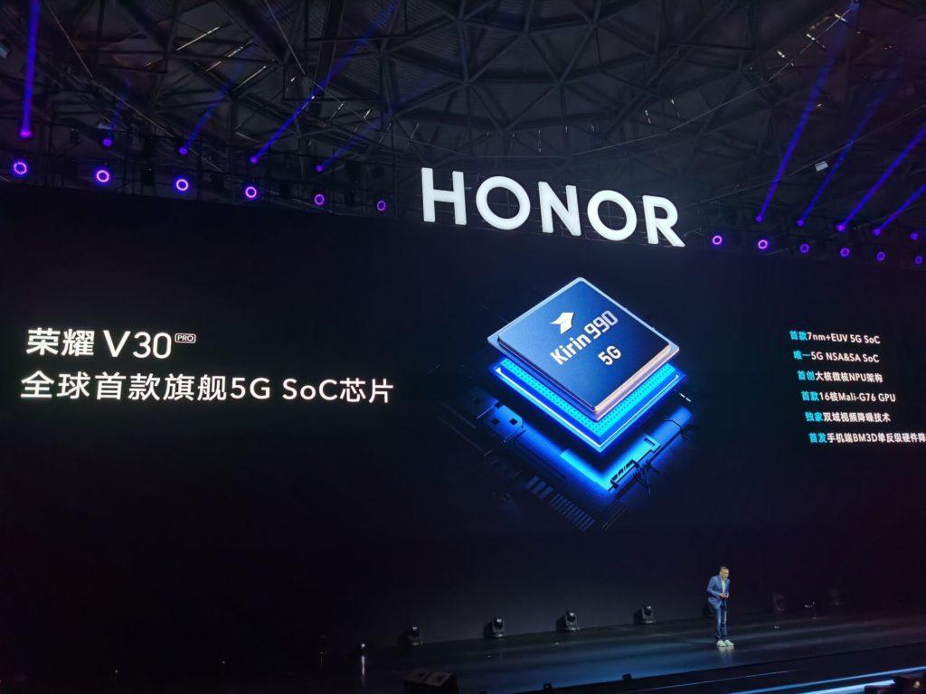 honor view 30 kirin 990
