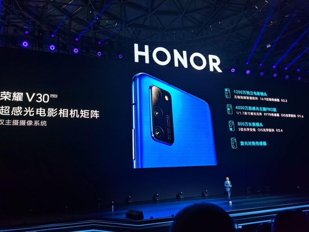 honor view 30 pro aparaty