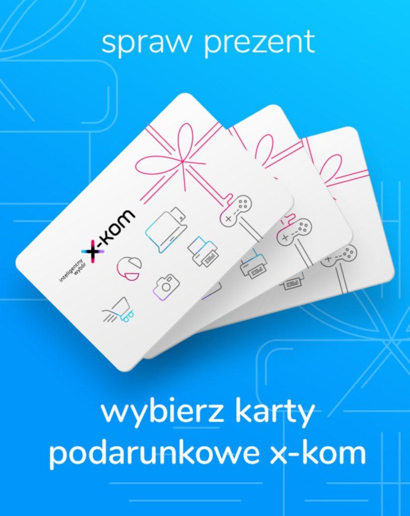 karty podarunkowe x-kom