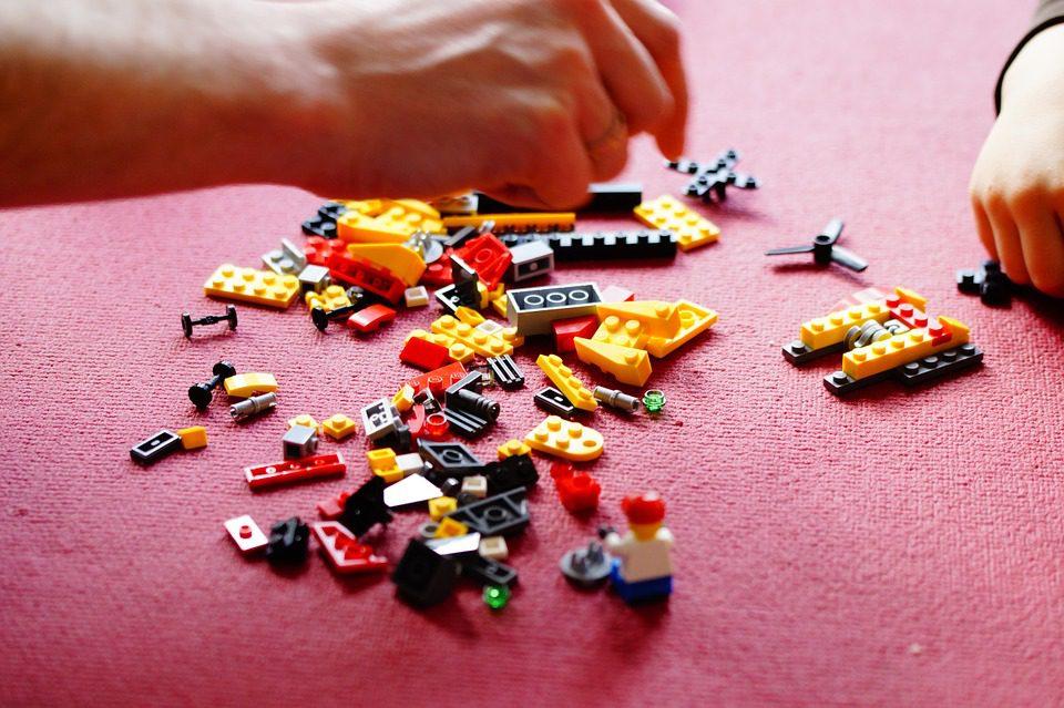 LEGO prezent święta