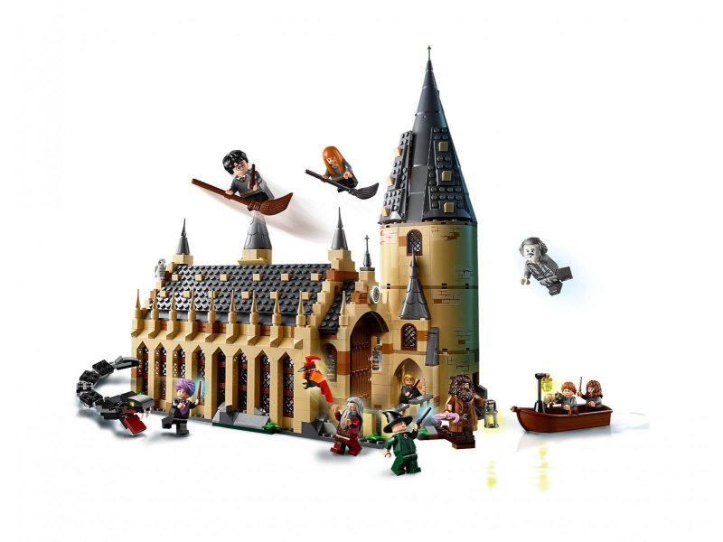 mikołajkowy prezent zamek Harry Potter