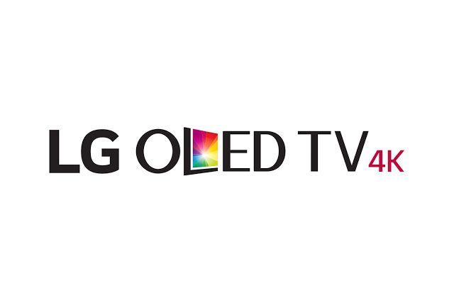 napis LG OLED TV 4K