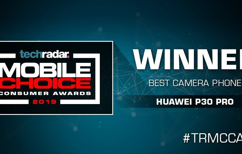 Huawei zgarnia 2 nagrody na TechRadar Mobile Choice Consumer Awards (MCCA) 2019