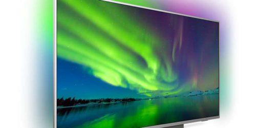 Philips 55PUS7504 – test i recenzja pięknego telewizora z metalową podstawą i głośnikami w nodze