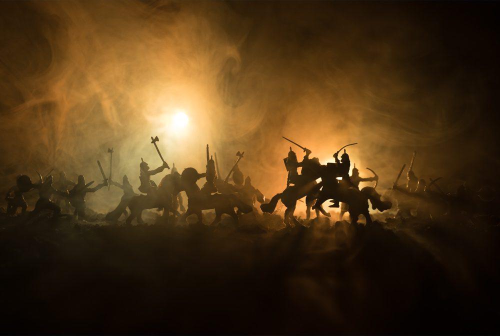 walczące armie
