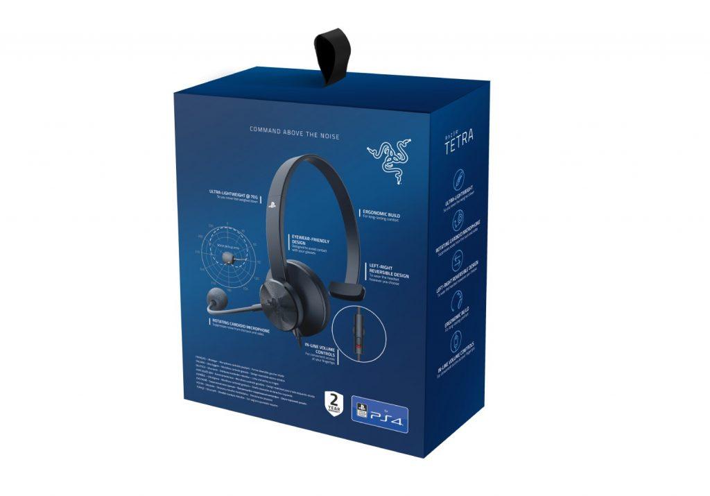 Słuchawki Razer Tetra dla konsoli PS4