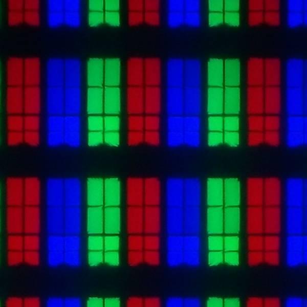 układ subpikseli w wyświetlaczu telewizora samsung 49ru8002