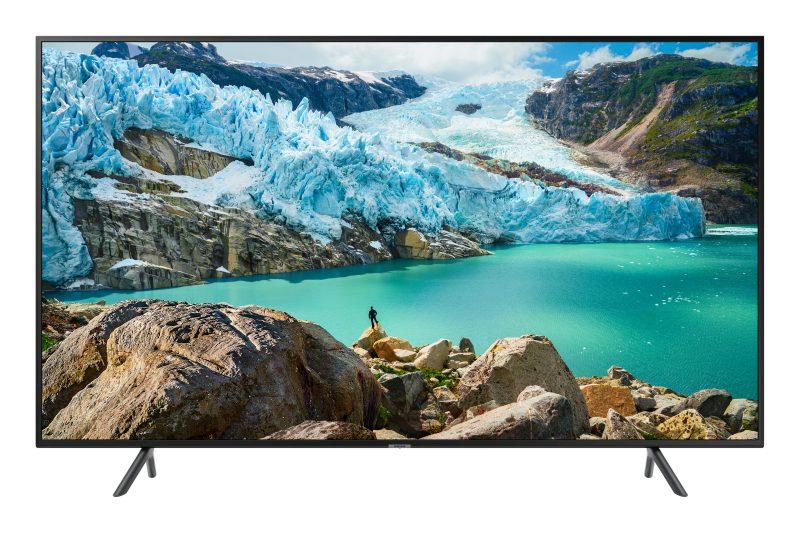zdjęcie przedstawiające wygląd telewizora samsung 50ru7172