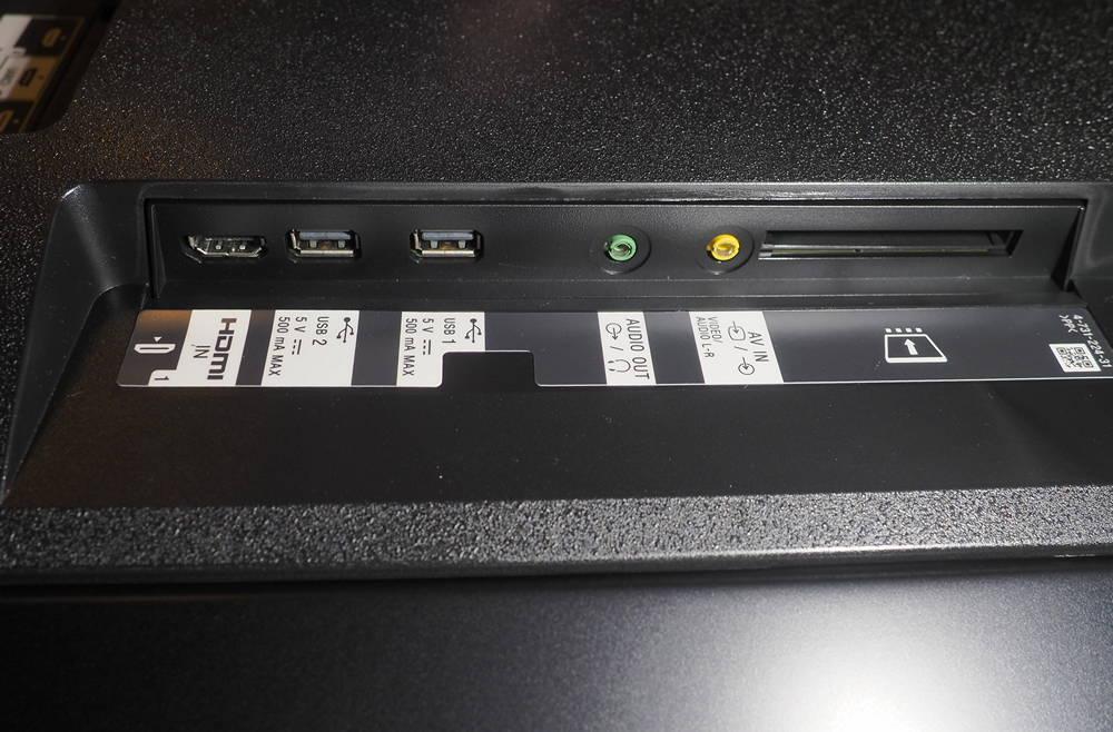 złącza telewizora sony 55xf9005