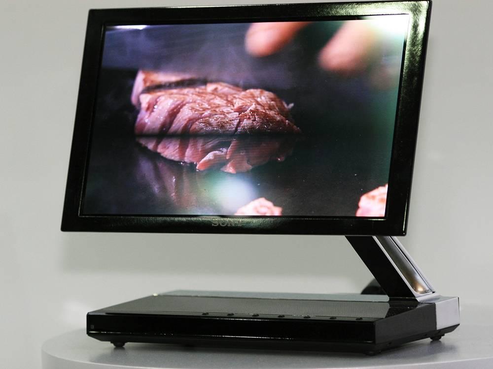 zdjęcie przedstawiające telewizor Sony XEL-1