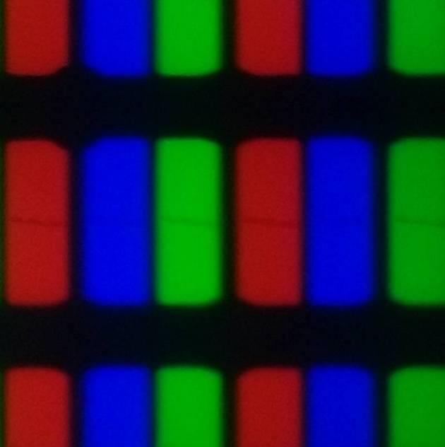 wyglad subpikseli w wyświetlaczu telewizora philips 55pus7504