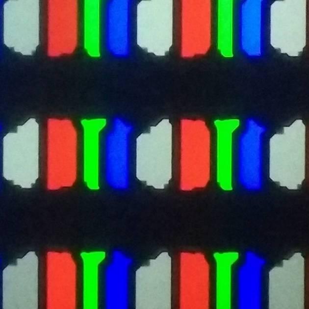 układ pikseli oled