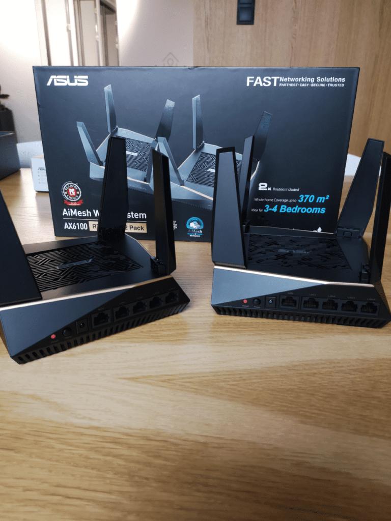 ASUS RT-AX92U zestaw 2szt wi-fi 6 geex