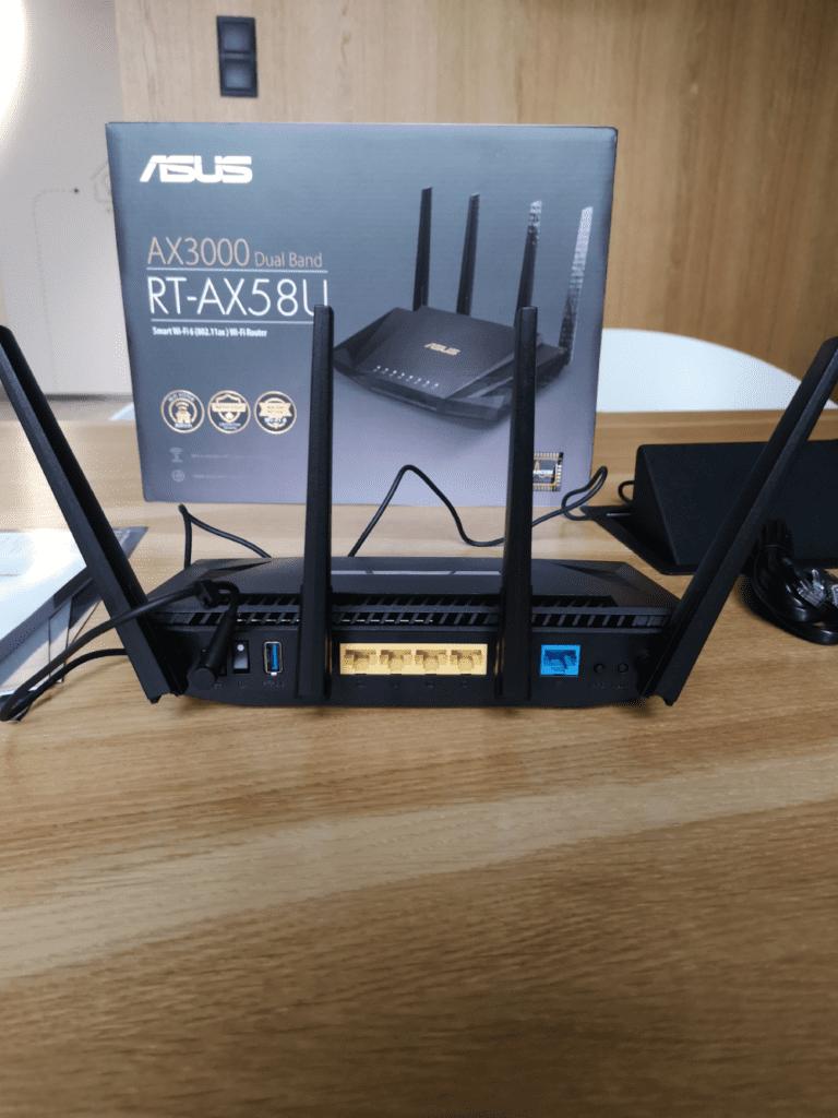 ASUS RT-AX58U geex wi-fi 6