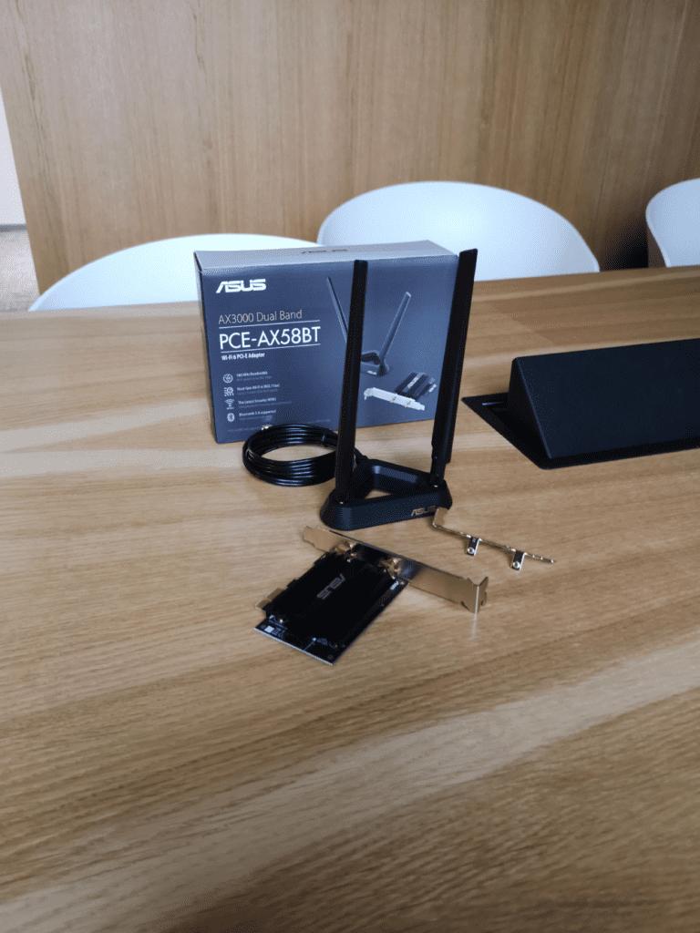 ASUS PCE-AX58BT geex wi-fi 6