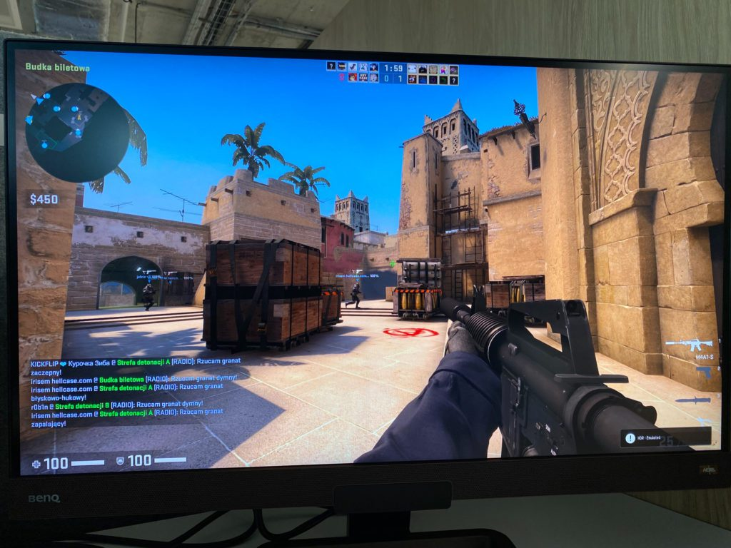 counter strike hdr on