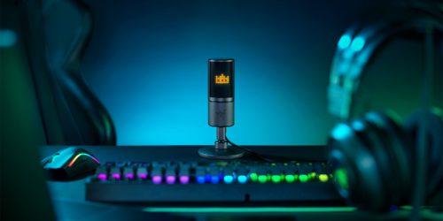 Mikrofon Razer Seiren Emote – recenzja ciekawego gadżetu dla streamerów