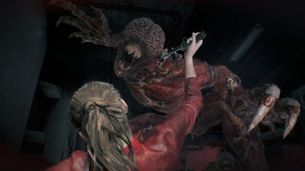 Resident Evil 2 lizacz