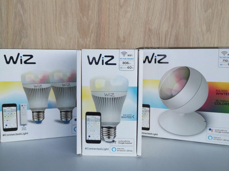 Test i recenzja inteligentnych żarówek oraz lampy LED RGB firmy WiZ. Czy są prawdziwie inteligentnym oświetleniem?