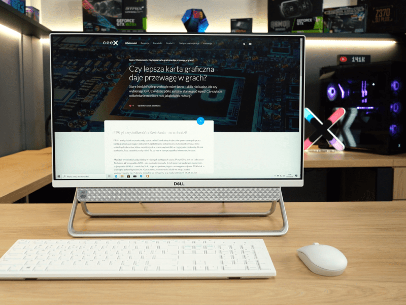 Dell Inspiron 5490 – recenzja. All-in-One pełną gębą