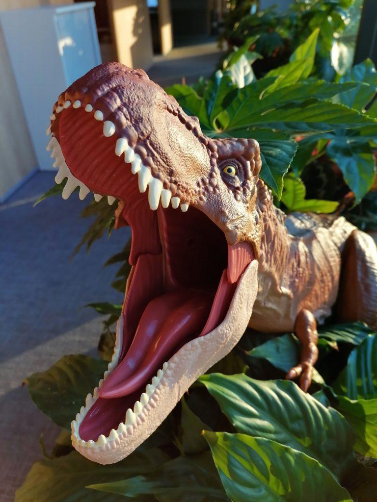 P Smart Pro zdjęcie paszczy dinozaura