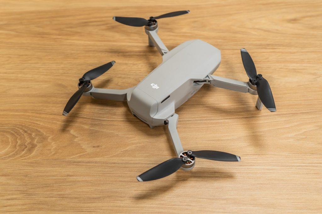 dron rozłożony