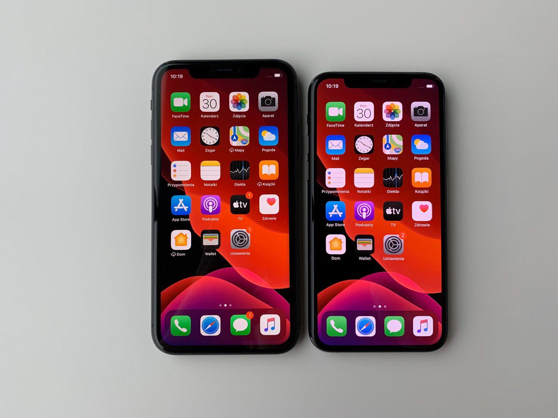 porównanie iPhone 11