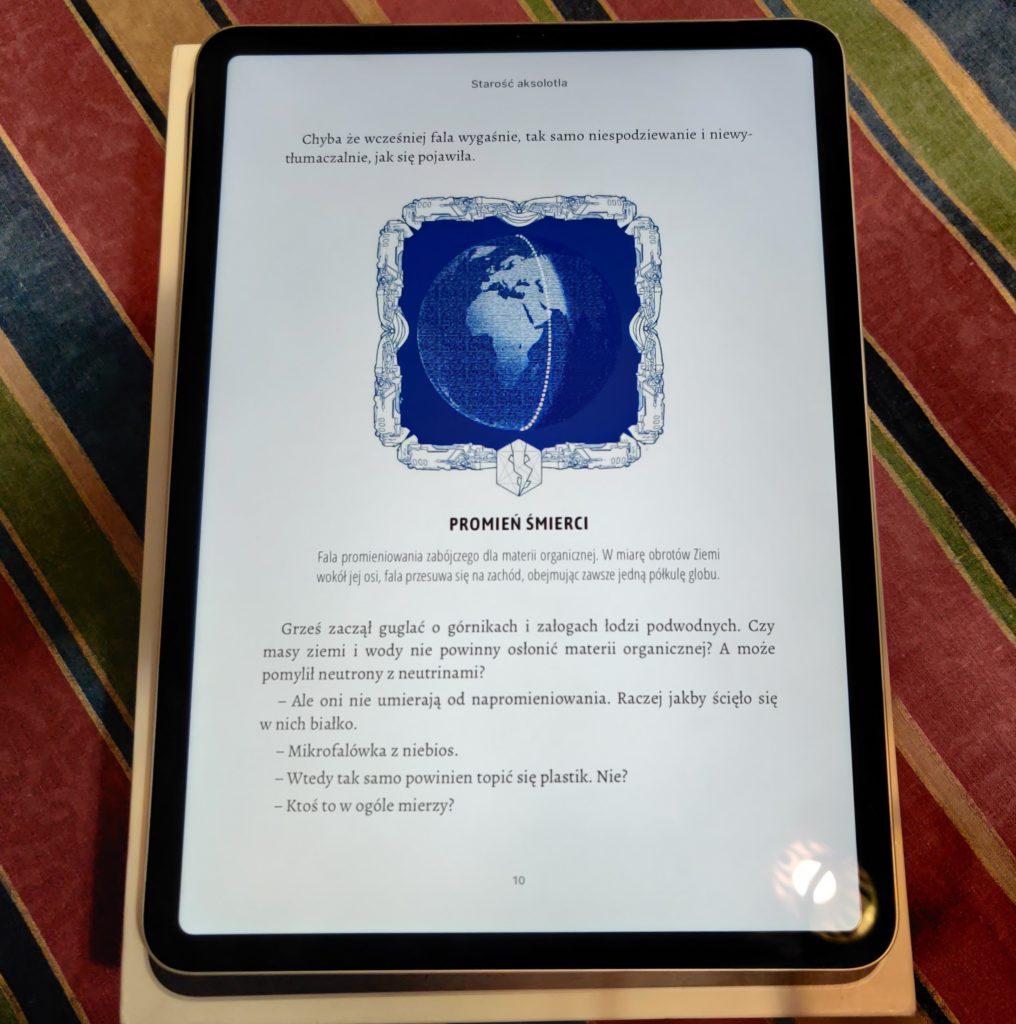 ipad pro e-book