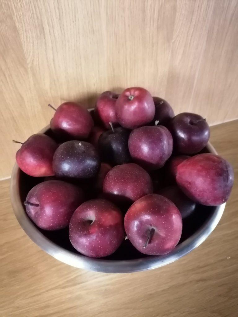 P Smart Pro zdjęcie jabłek