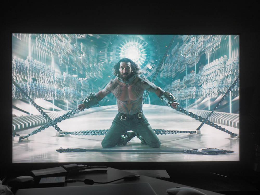 scena pokazująca działanie HDR-u w telewizorze sony 55xg9505