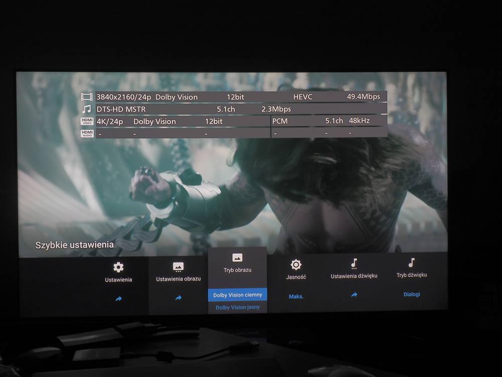 działanie hdr-u w telewizorze sony 55xg9505