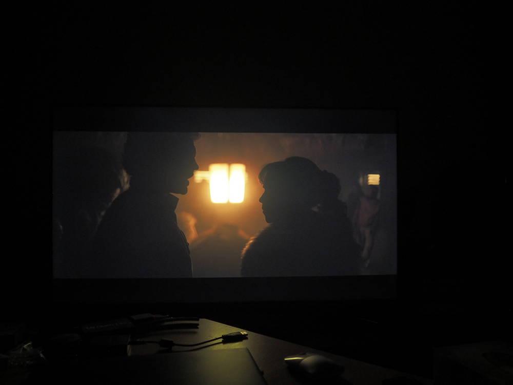 scena pokazująca wysoką jakość obrazu sony 55xg9505