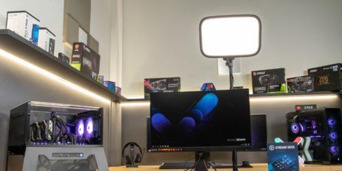 Jak postanowiłam zostać youtuberem cz.3 – lampa doświetlająca Elgato Key Light
