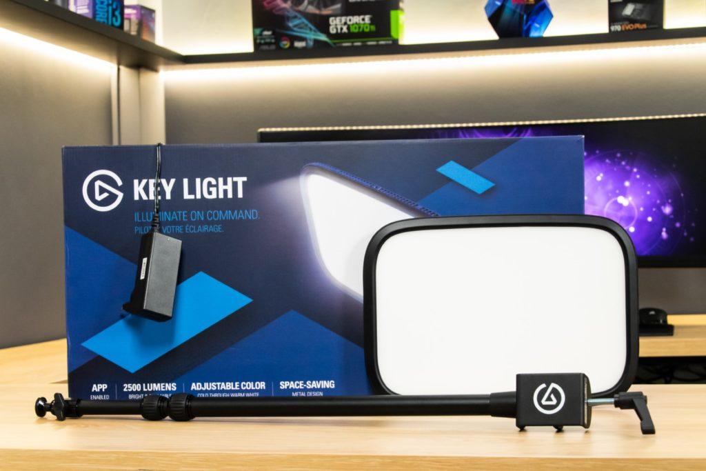 elgato key light - pudełko