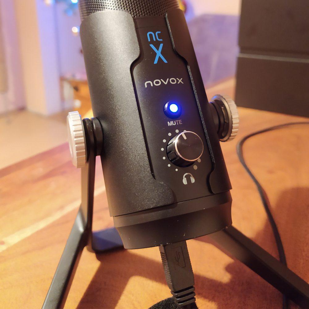 regulacja głośności słuchawek w novox ncx