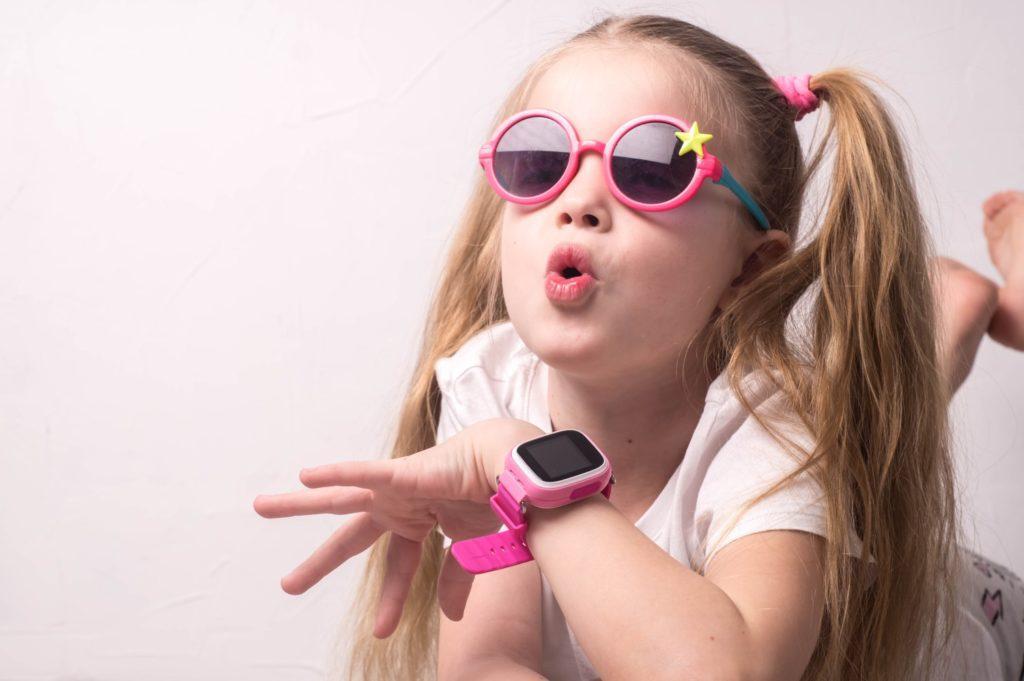 smartwatch dla dziewczynki różowy