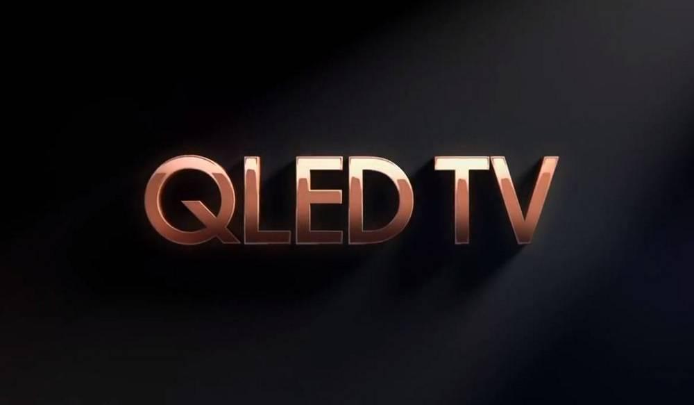 napis QLED TV