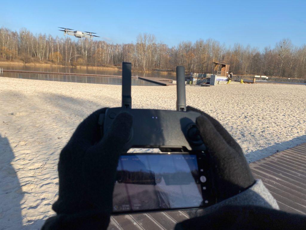 sterowanie dronem mavic mini