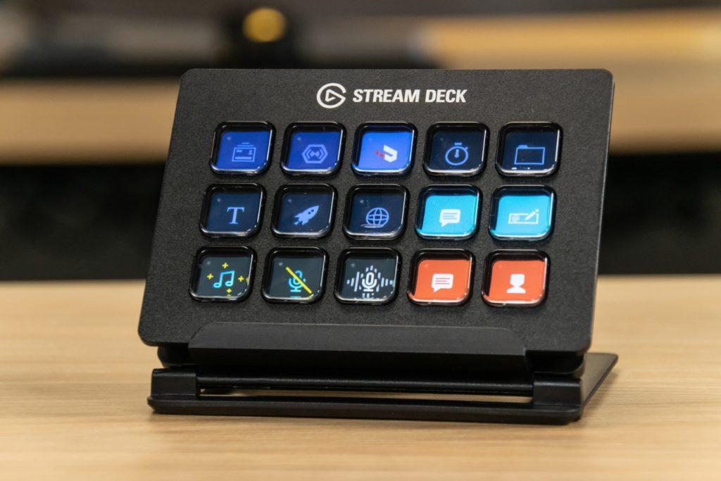 stream deck - przypisane funkcje