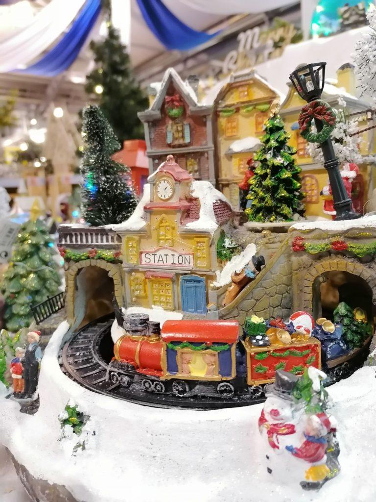 P Smart Pro zdjęcie ozdób świątecznych lokomotywa