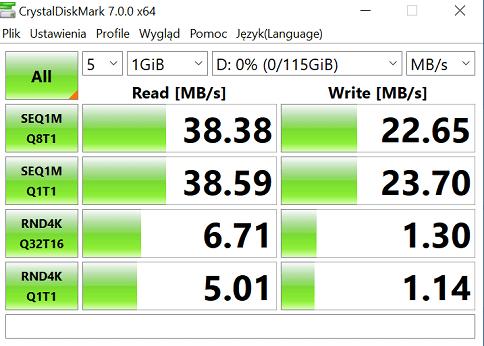 test sandisk ultra dual usb 3.1 crystaldiskmark