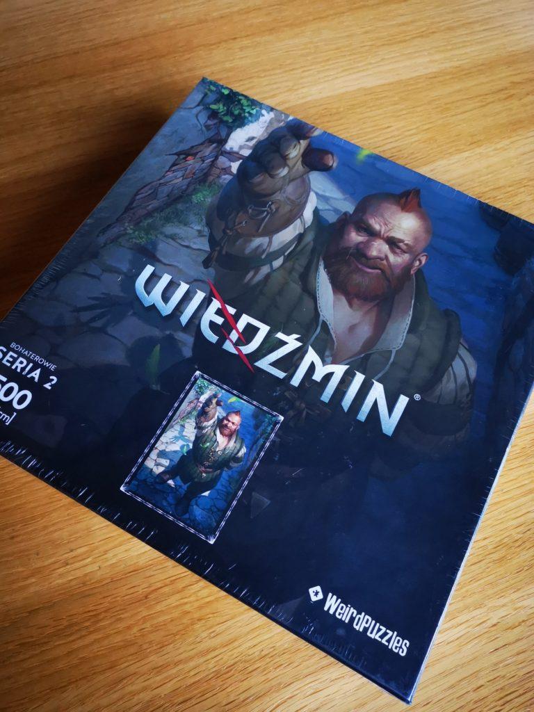 Puzzle Wiedźmin Zoltan