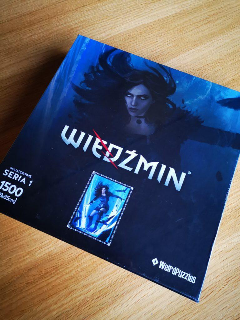 Puzzle Wiedźmin Yennefer