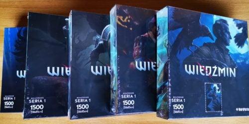 Ekskluzywne puzzle z bohaterami Wiedźmina. Zbierz je wszystkie!