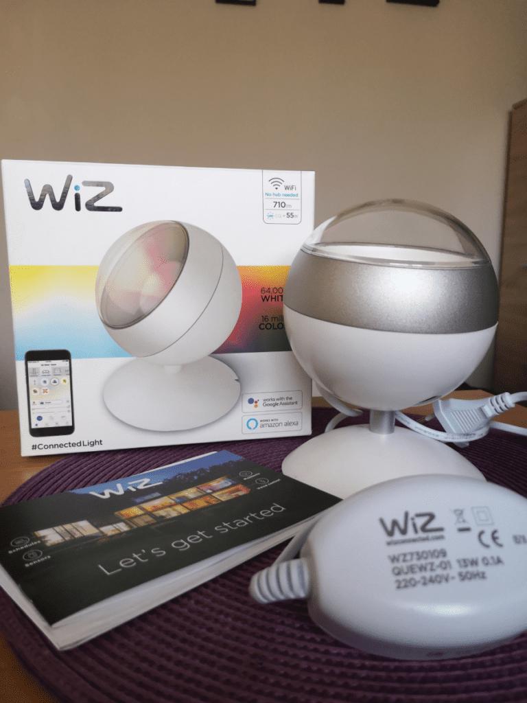 lampa rgb led WiZ Geex