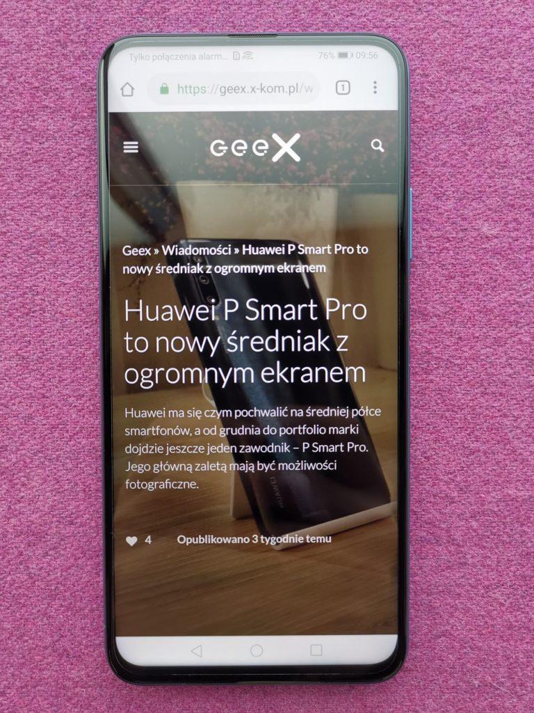 Wyświetlacz Huawei P Smart