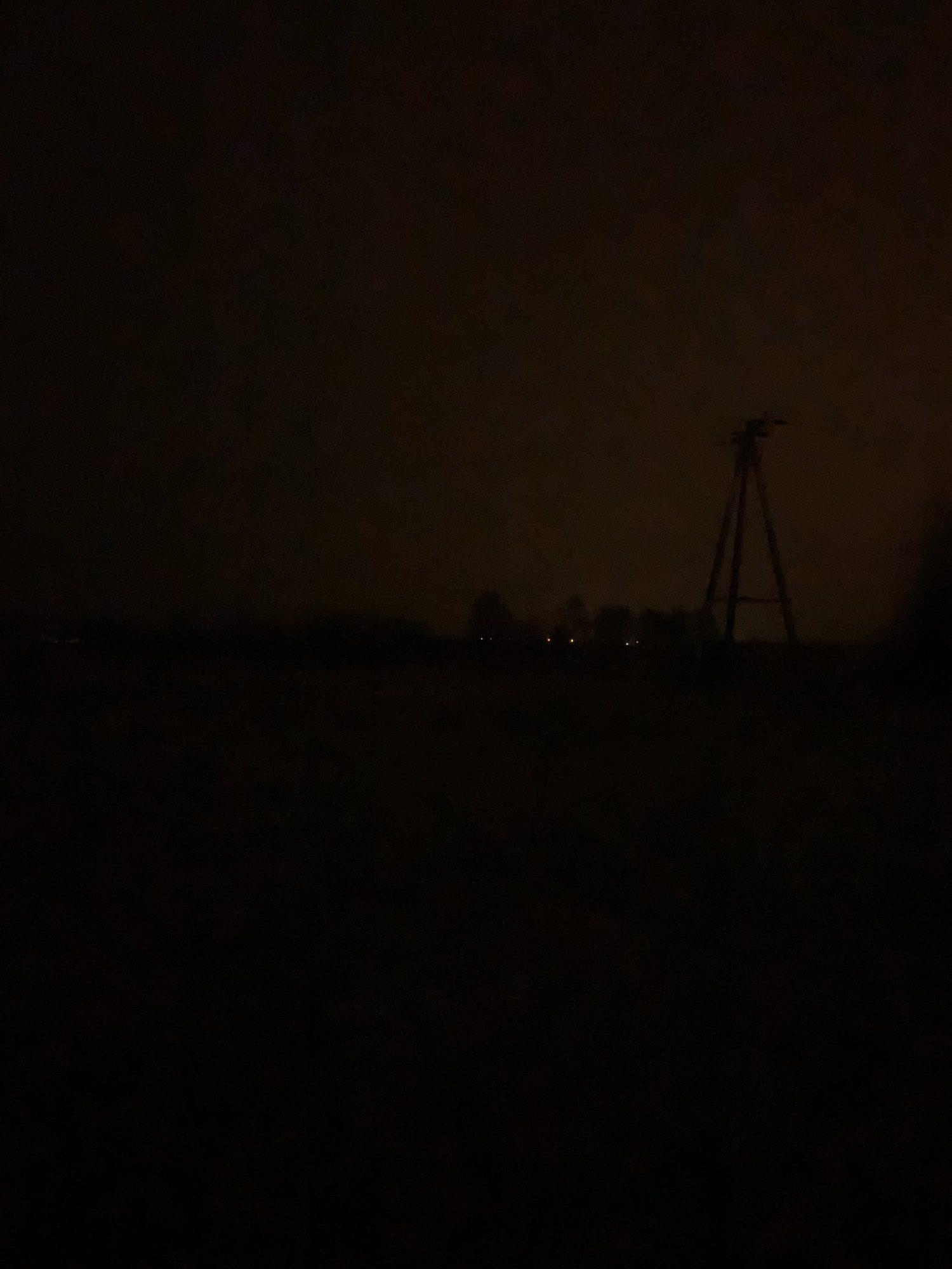 zdjęcie nocne iPhone Xs