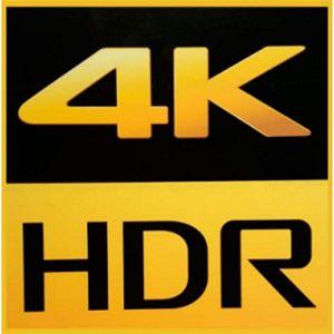 napis 4K HDR