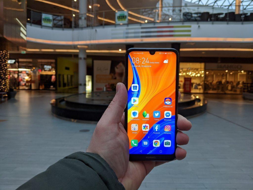 Ekran Huawei y6s
