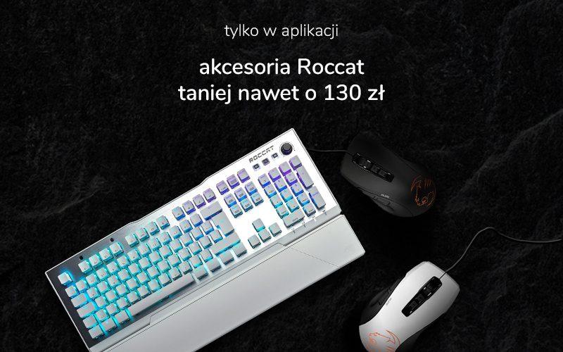 akcesoria roccat - klawiatura i dwie myszki